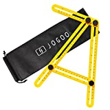 Jogoo Angleizer Template Tool For Hanging Tile,Laying Floors,Cutting Stone,Measuring All Angles and Forms Angle Ruler,for Handymen,Builders,Craftsmen