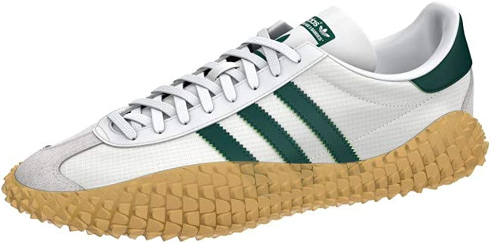 adidas Originals Country X Kamanda Never Made, Cloud White-Green-Gum, 11,5