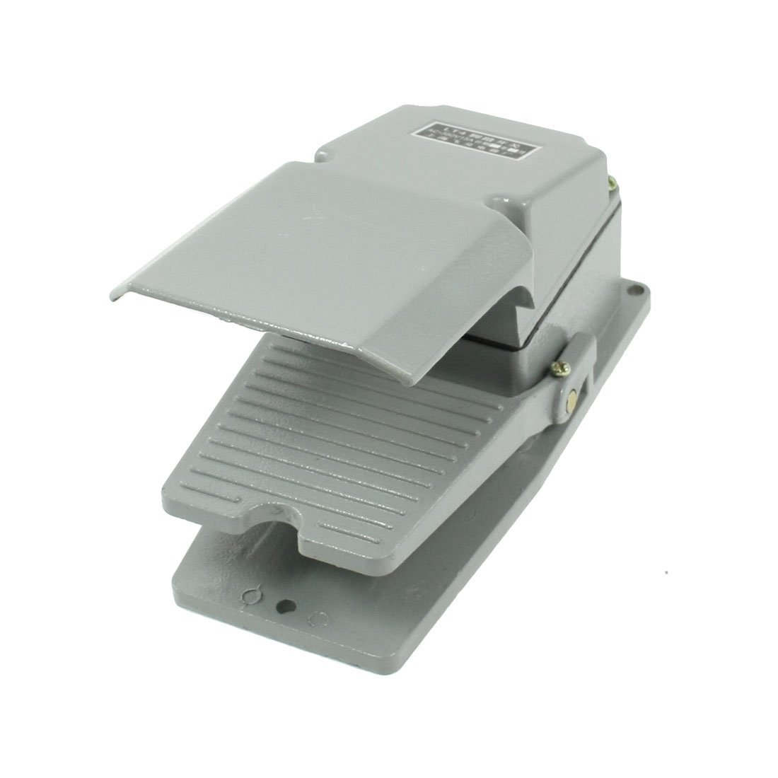 Uxcell AC 380V 15 Amp Momentary CNC Single Action Foot Pedal Switch with Guard