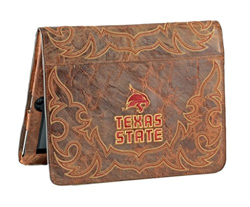 Gameday Boots NCAA Texas State Bobcats Swt-IP009Texas State University iPad 2 Cover, Brass, One Size by Gameday Boots