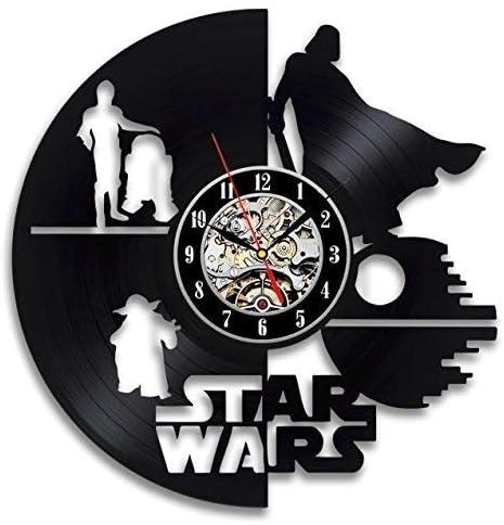 La Bella Casa Fictional Character Star Wars Art Wall Clock Vinyl Wall Clock