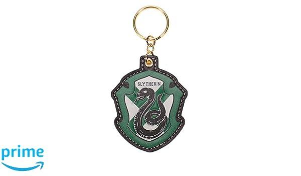 Llavero de Harry Potter - Slytherin Varsity Crest: Amazon.es ...