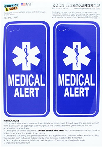 Graphics and More Medical Alert - Emergency - Star of Lif...