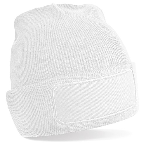 imprimir para Blanco estampar unisex hombre beanie invierno Ideal básico de Beechfield mujer Gorro Cgzwq1P
