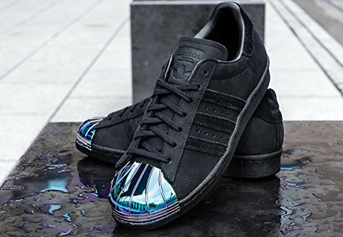 80s core Calzado adidas W Superstar Metal black Toe 5YqwwzvP