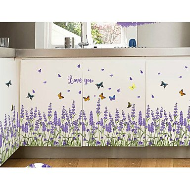 XGHC Lavender Play Crural Line Porch Sitting Room The Bedroom Decorates A Wall Post , rainbow , 20