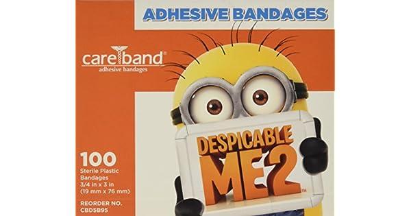 Amazon.com: Despicable Me vendas 3/4 X 3, 100 por caja ...