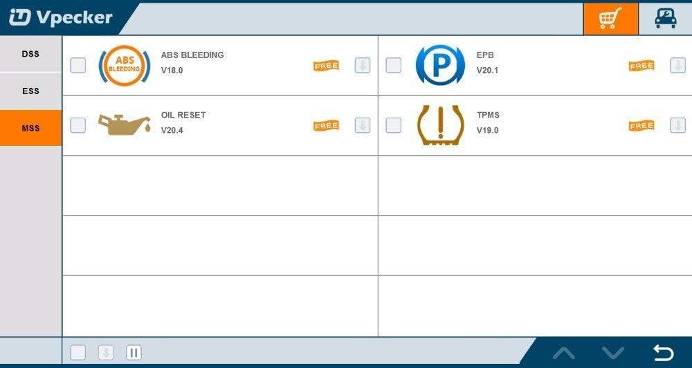 airbag//ABS Sistemas para Windows XP ~ Windows 10 MTBL Vpecker Easydiag Wireless WiFi OBDII Herramienta de diagn/óstico Completo Soporte de Motor