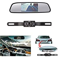 HAIN Backup Camera and Monitor Kit for Vehicle/Car ,CMOS Reverse/Rear reiew camera and Monitor for Car With 7 LED Night Vision