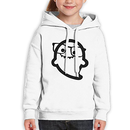 Teenagers Hi I'm Ghost Sunglass Teen Hoodies White Pullover Hooded Youngsters Sweatshirt With Boys - Squirtle Sunglasses