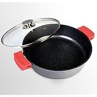 WeCook 10201 Cazuela de Cocina Inducción Profesional, Tapa