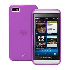 Fosmon DURA Frost TPU Phone Case for the BlackBerry Z10 - Magenta
