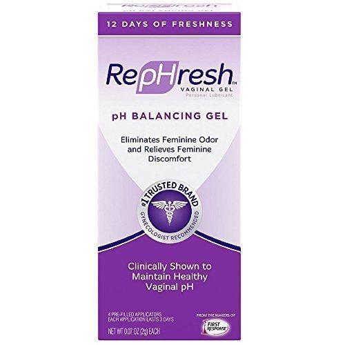 RepHresh Vaginal Gel, Odor Eliminating Gel, 4 ea (Pack for sale  Delivered anywhere in USA