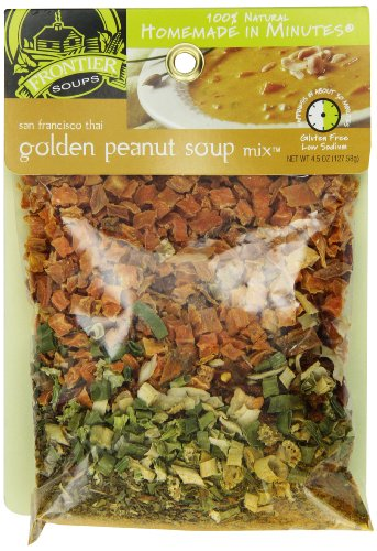 Frontier Soups Homemade In Minutes Soup Mix, San Francisco Thai Golden Peanut, 4.5 ()
