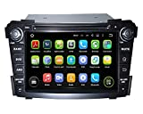 7 Inch Android 5.1.1 Lollipop OS 1024x600 Touchscreen Quad Core 1.6G CPU 16G Flash Car DVD Player for Hyundai I40 2011 2012 2013 2014 with GPS Navi