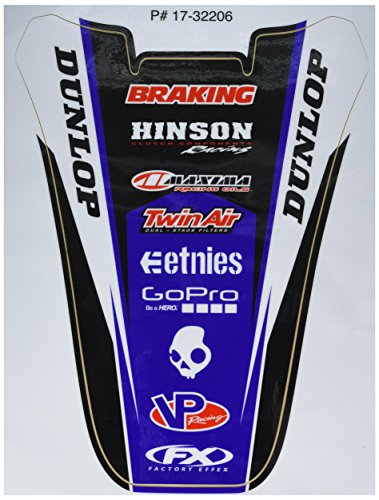 Factory Effex Graphics Kits - Factory Effex (17-32206) Rear Fender Graphic