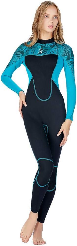 Women Lady Full Body Wetsuit Surf Swim Diving Steamer Wet Suit AV