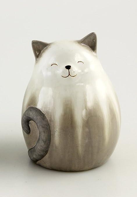 Con forma de gato de cocina de cerámica con diseño de gatos con diseño de gato