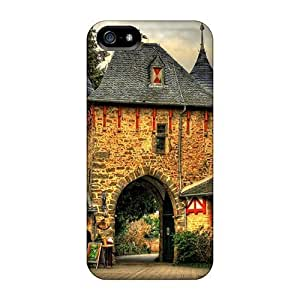 Perfect PC For Iphone 5C Phone Case Cover Anti-scratch Protector Case (square In Front Of An Impressive Entrance Hdr)