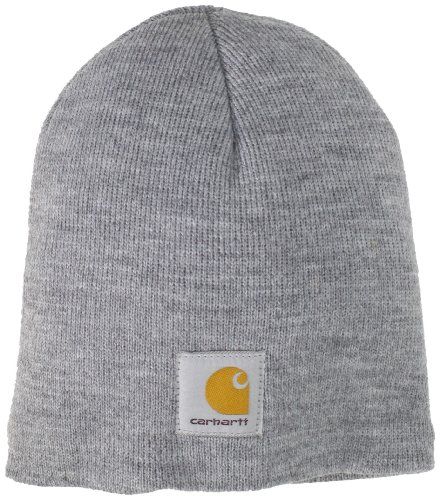 Carhartt Men's Acrylic Knit Hat,Heather Grey,One Size