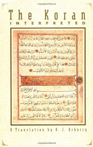 Cover of The Koran Interpreted: A Translation