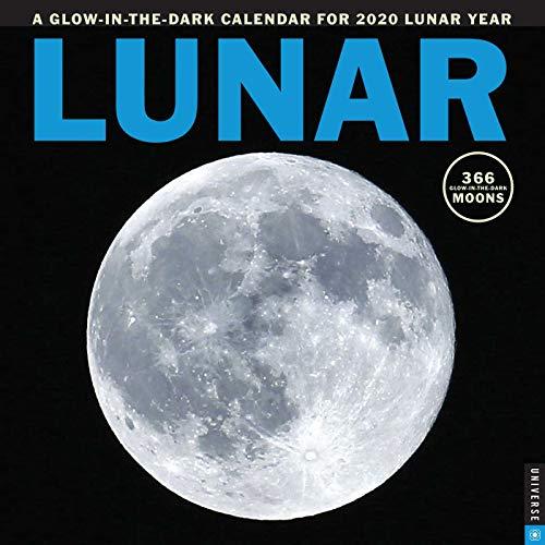 Lunar 2020 Wall Calendar: A Glow-in-the-Dark Calendar for the Lunar Year (Christmas Symbols German For)