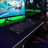 PICTEK TKL Mechanical Gaming Keyboard, RGB LED