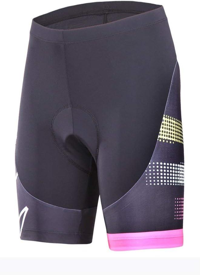 SouFace Short de Cyclisme Style pour Femme et Homme Cuissard de Sports sous-V/êtements Respirant rembourr/é en Gel 3D Cyclisme S/échage Rapide