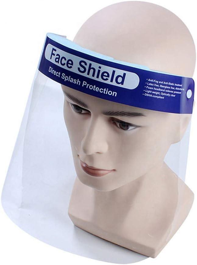 1PC TaiRi M/áscara Protectora Anti-Aceite de Cocina mascarilla Anti-Salpicaduras para la Cocina Pantalla Facial de protecci/ón Facial Completa