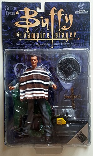 Variant - Moore - Fiesta Giles Action Figure - Buffy the Vampire Slayer - Anthony Stewart Head -