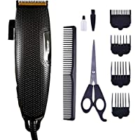 Care 4 Gemei GM-806 Electric Corded Professional Hair clipper with titanium Blade Corded Trimmer for Men (Black)