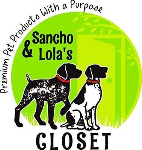 Sancho & Lola's Pig Ear Strips for Dogs (1LB), Slow Roasted Grain-Free, Rawhide-Free, Natural Healthy Dog Treats, Loaded with Collagen (30-38 Count), Made in USA