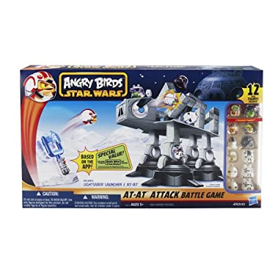 Angry Birds Star Wars Fighter Pods At At Attack by Star Wars