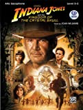 Indiana Jones and the Kingdom of the Crystal Skull Instrumental Solos - Alto Sax