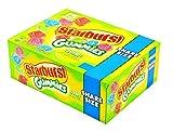 Starburst Gummies Sours share size cherry, blue raspberry watermelon & strawberry 3.5 oz / 15 ct