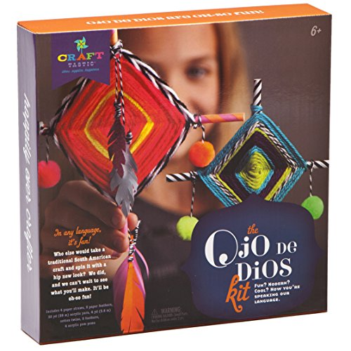 Eye Craft Gods (Ann Williams Group Craft-tastic Ojo de Dios Kit)