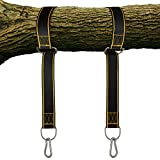 StrapMate - Tree Swing Hanging Kit - Two 4 Foot Straps Holds 2800 lbs (SGS Certified), Fast and Easy Way to Hang Any Swing, No Tools Needed