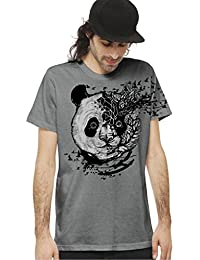 "<span class=""a-offscreen"">[Sponsored]</span>Men's Cotton t-shirt - Crew Neck Street Style Tee Psychedelic Graphic Design"