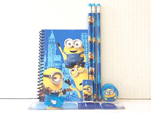 It's Good to Be a Minions Stationery Set-blue