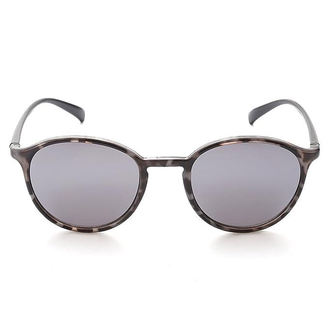 Amazon.com: caxman moda Vintage P3 anteojos de sol redondas ...