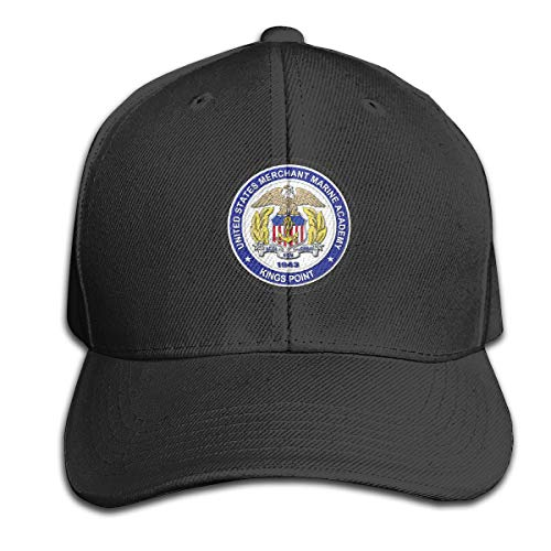 (United States Merchant Marine Academy - Kings Point Adjustable Trucker Baseball Cap Black)
