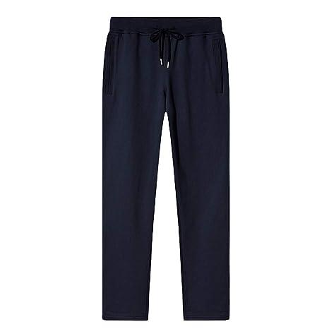 EKLENTSON - Pantalones de chándal para Hombre (algodón, Dobladillo ...