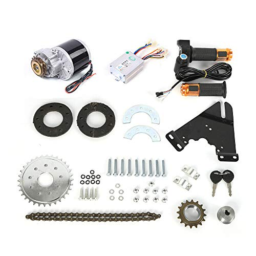 Electric Drive Bike Conversion Kit Thumb Kit Twist Kit Mountain Bike Conversion Custom 24V 36V 250W 350W E-Bicycle Kit E-Bike Motor Set Homemade DIY Electrci Bicycle