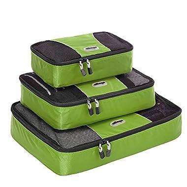 eBags Packing Cubes - 3pc Set (Grasshopper)