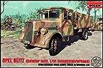 1/72 Opel Blitz (Daimler Built, L701 Einheits) WWII German Cargo Truck w/Wooden-Type Cab by RODEN