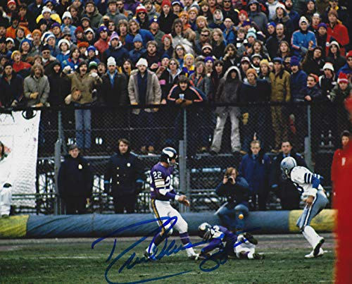 - Autographed Drew Pearson