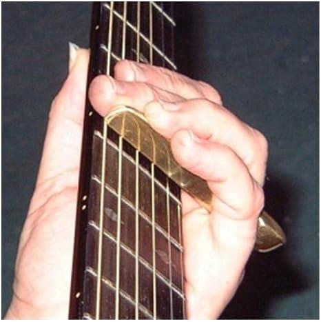John Pearse el borde Bell latón para guitarra Slide: Amazon.es ...