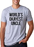 World's Okayest Uncle T Shirt Funny Medocre Relatives - Best Reviews Guide