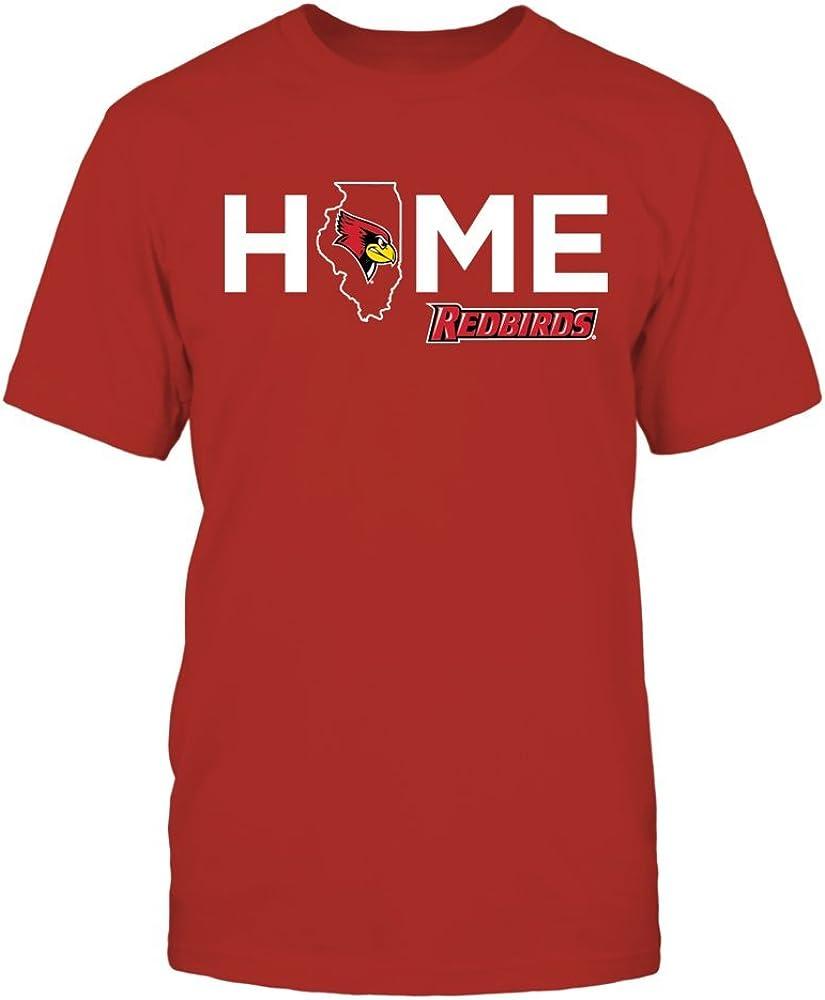 FanPrint Illinois State Redbirds T-Shirt - Home
