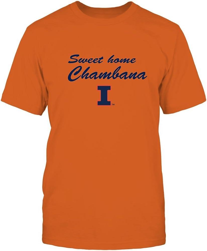 FanPrint Illinois Fighting Illini T-Shirt - Sweet Home Chambana